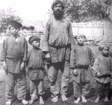 Крестьянин с сыновьями